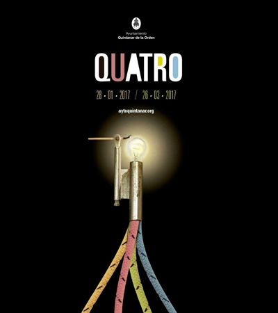 Quatro: Second Biennial Exhibition of Creators of Castilla-La Mancha. Stone House. Quintanar de la Orden. Toledo. Spain (28 january-26 march 2017)